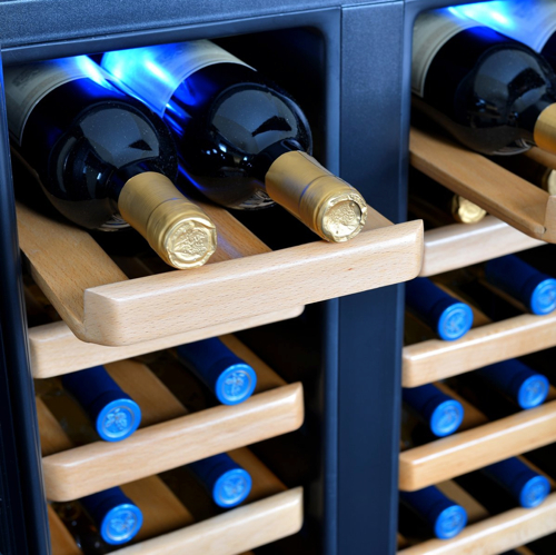 32 Bottle Dual Zone Thermoelectric Wine Refrigerator 3