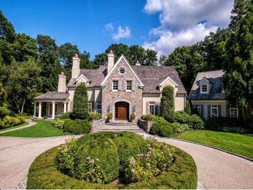 $8.7 Million French Country Manor in Greenwich Connecticut