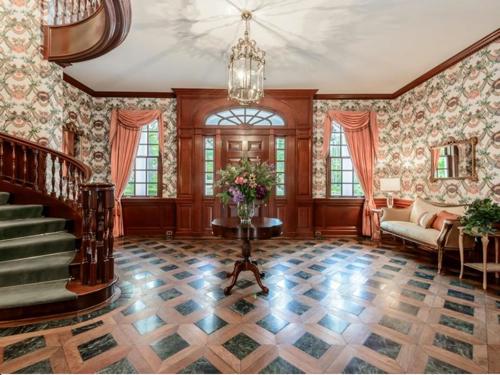$9.9 Million Brick Georgian Manor in Old Brookville New York 3