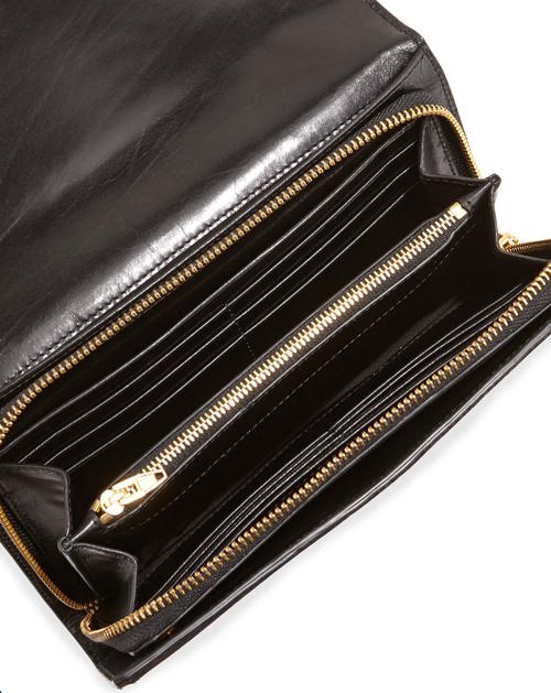 Alexander Wang Prisma Spotted Calf Hair Wallet Clutch 2