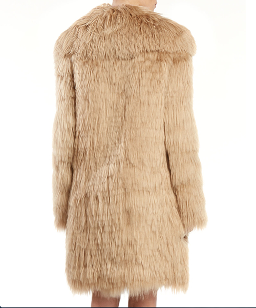 Gucci Single Breasted Alpaca Fur Jacket 2