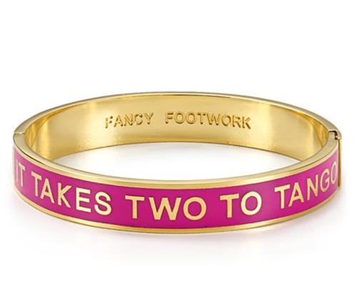 Kate Spade New York It Takes Two to Tango Idiom Bangle
