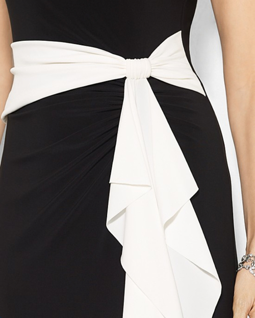 Ralph lauren color block dress formal