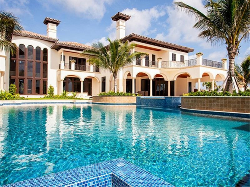 $16.6 Million Oceanfront European Style Mansion in Vero Beach Florida
