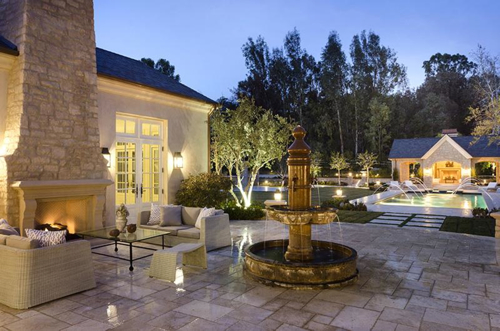 $20 Million Country French Mansion Just Purchased by Kim Kardashian and Kanye West in Hidden Hills California 21
