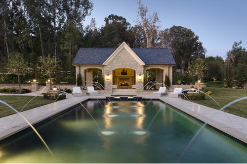 $20 Million Country French Mansion Just Purchased by Kim Kardashian and Kanye West in Hidden Hills California 26