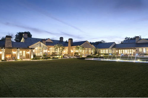 $20 Million Country French Mansion Just Purchased by Kim Kardashian and Kanye West in Hidden Hills California 27