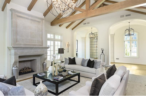 Estate of the day 20 million country french mansion for Decoration maison kris jenner