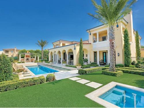 $21.8 Million European Style Mansion in California