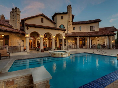 Estate of the day 3 7 million mediterranean mansion in for The austin house