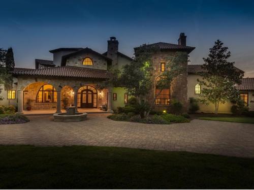 $3.7 Million Mediterranean Mansion Austin Texas