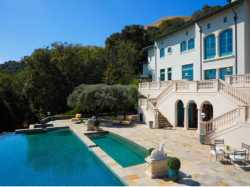 $30 Million Villa Sorriso Mansion and Vineyard Owned by Robin Williams in Napa, California  6