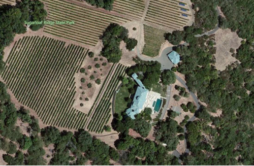 $30 Million Villa Sorriso Mansion and Vineyard Owned by Robin Williams in Napa, California  9