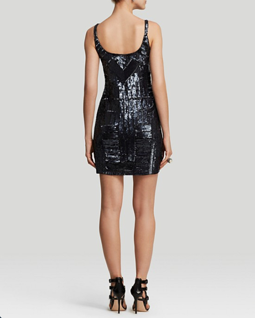 Adrianna Papell Sleeveless Beaded Shift Dress 2