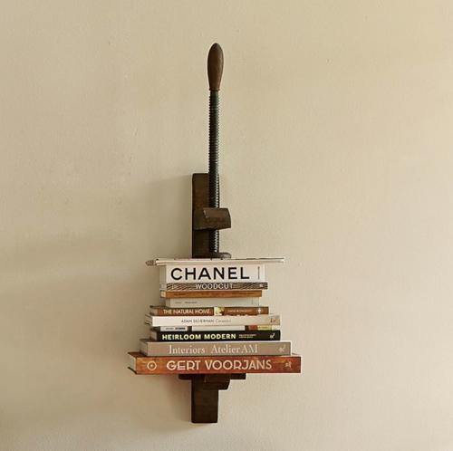 Pottery Barn Book Press Shelf