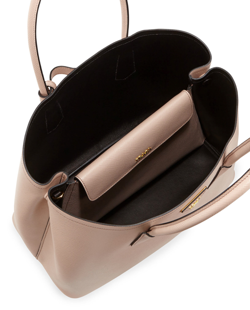 Prada Saffiano Cuir Double Bag 2