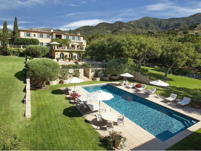 $23.5 Million Prima Luce Mansion in Montecito, California