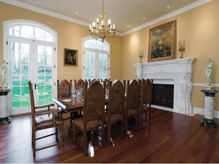 $3.2 Million European Style Country Estate in New Hope, Pennsylvania - Formal Dining Room