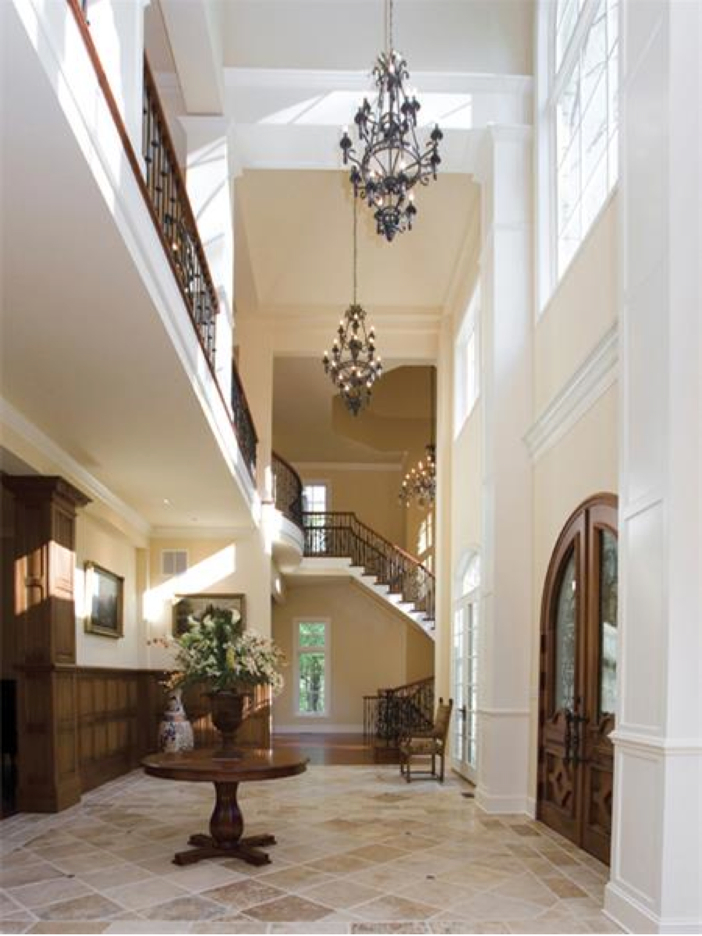 $3.2 Million European Style Country Estate in New Hope, Pennsylvania - Foyer and Staircase
