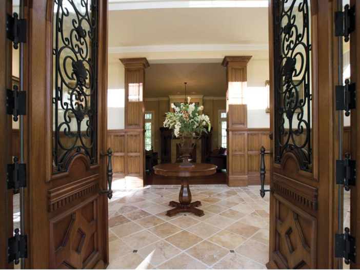 $3.2 Million European Style Country Estate in New Hope, Pennsylvania - Foyer
