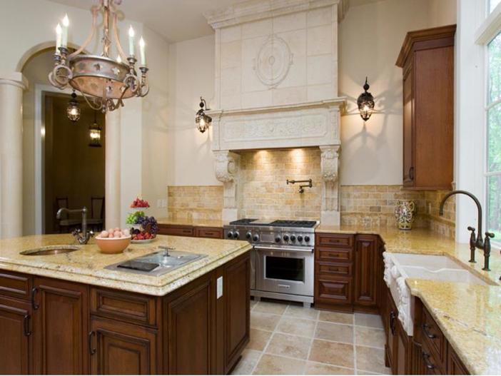 $3.2 Million European Style Country Estate in New Hope, Pennsylvania - Gourmet Kitchen