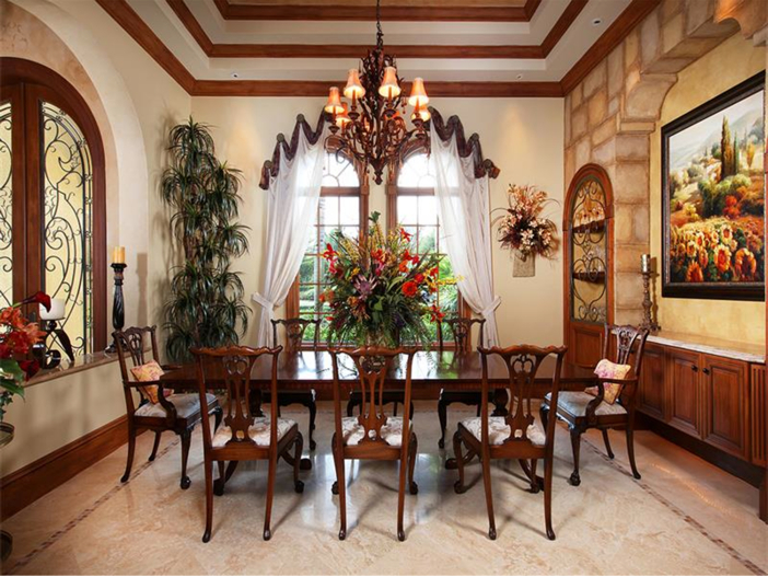 estate of the day: $3.2 million italian inspired mansion in naples