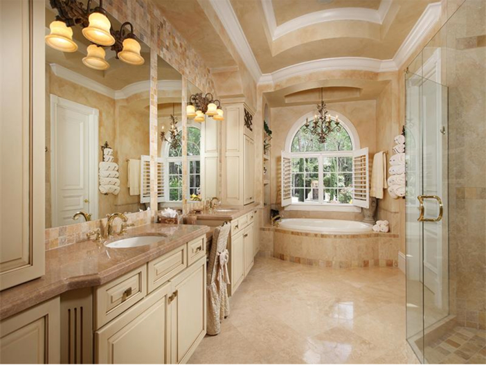 Estate of the Day 32 Million Italian Inspired Mansion  : 32 Million Italian Inspired Mansion in Naples Florida Master Bath from www.exoticexcess.com size 702 x 527 jpeg 353kB