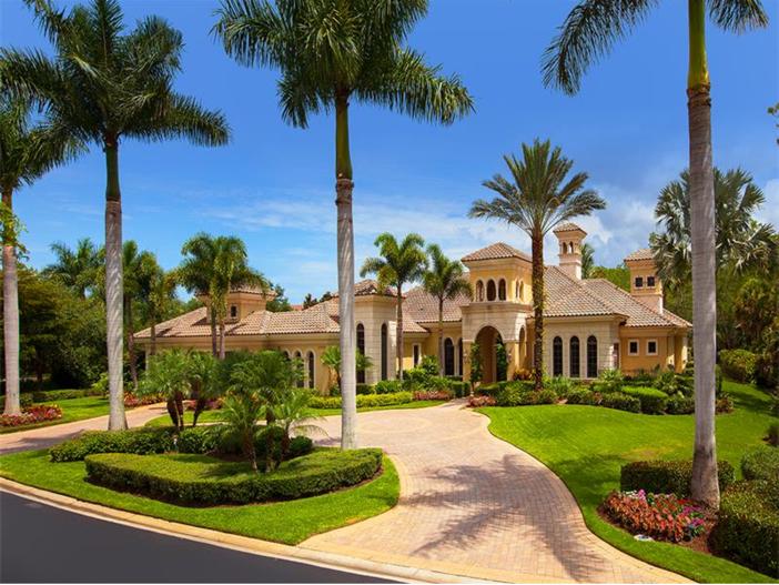 $3.2 Million Italian Inspired Mansion in Naples, Florida