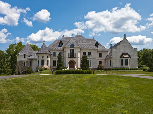 Estate Of The Day 4 5 Million Elegant Custom Mansion In