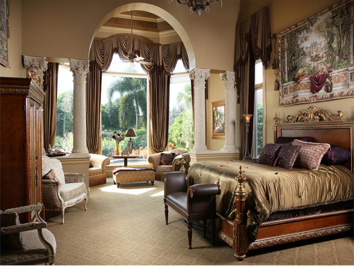 $4.5 Million Luxurious Estate in Naples, Florida - Master Suite