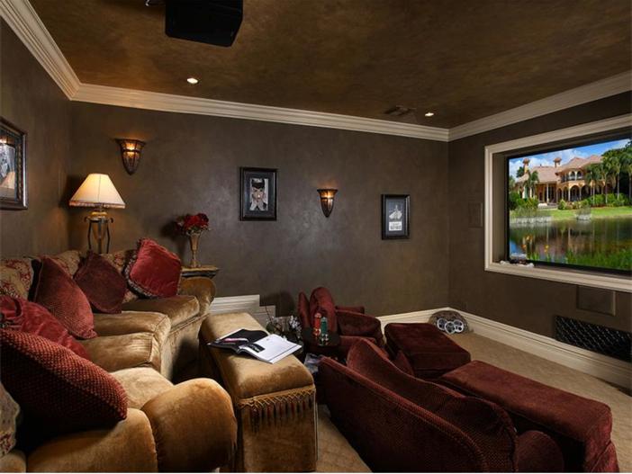 $4.5 Million Luxurious Estate in Naples, Florida - Theater