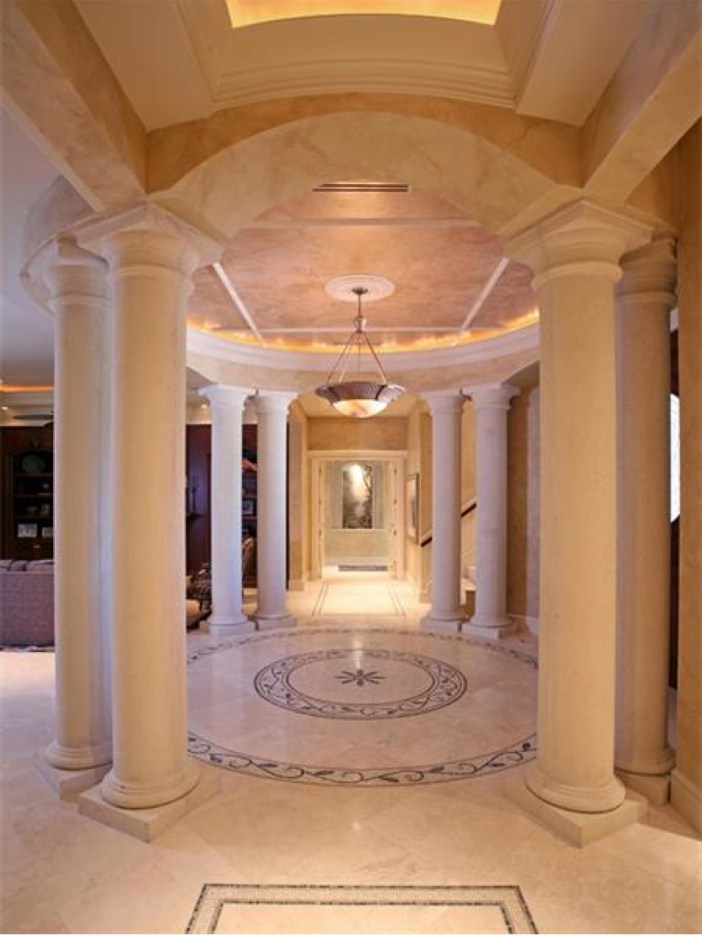 $4.6 Million Custom Waterfront Estate in Naples, Florida - Columns