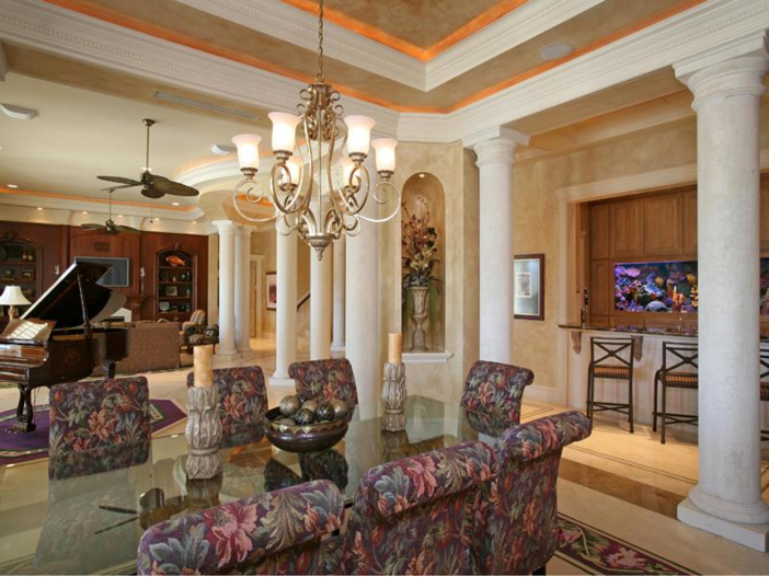 $4.6 Million Custom Waterfront Estate in Naples, Florida - Dining Room