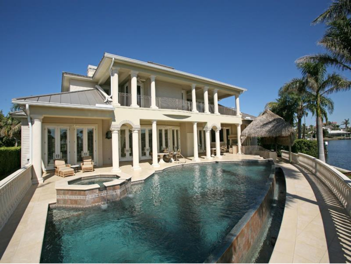 $4.6 Million Custom Waterfront Estate in Naples, Florida - Infinity Pool
