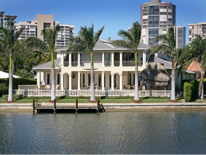 $4.6 Million Custom Waterfront Estate in Naples, Florida - Waterfront Estate