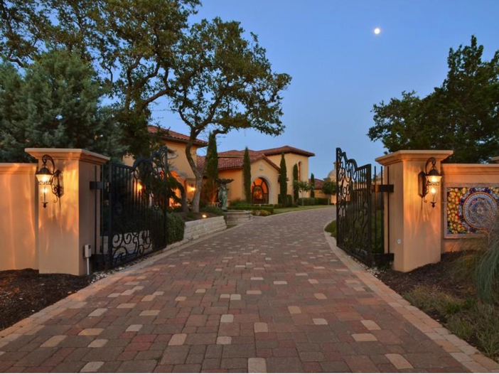 $5.3 Million Tuscan Mansion in Austin, Texas - Gated Estate