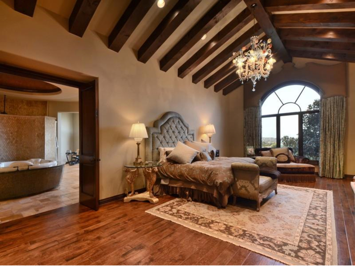 $5.3 Million Tuscan Mansion in Austin, Texas - Master Suite