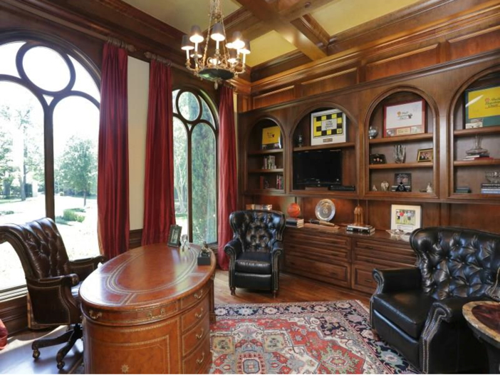 $5.7 Million Magnificent Gated Estate in Houston, Texas - Home Office
