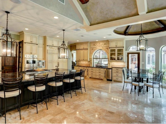 ... Million Mediterranean Mansion in Houston, Texas - Kitchen Continued