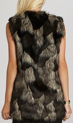 BCBGeneration Faux Fur Vest 2