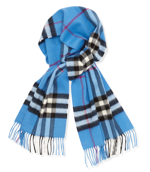 Burberry Men's Giant-Check Cashmere Scarf