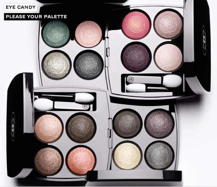 Chanel's Les 4 Ombres Eye Shadows