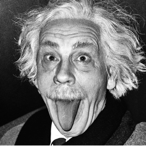 John Malkovich as Albert Einstein