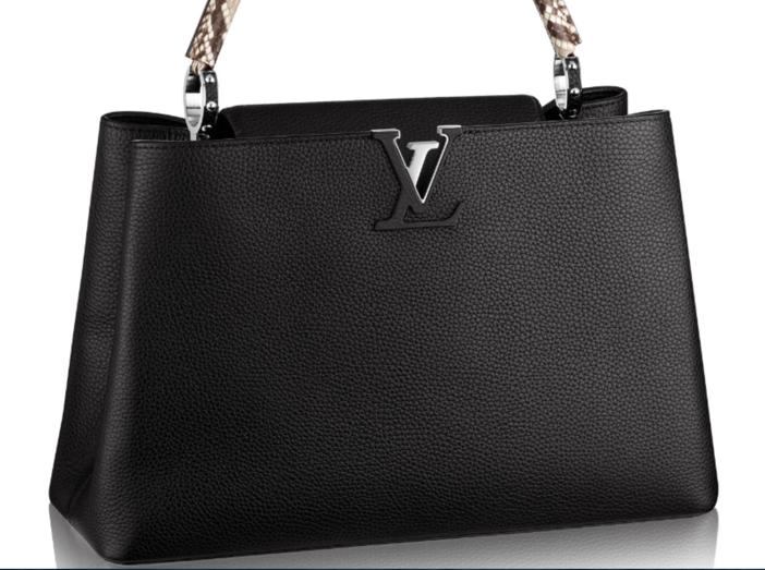 Louis Vuitton Capucines MM Python