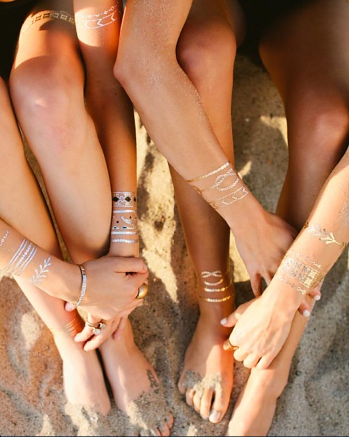 Lulu DK Jewelry Tattoos - The New Friendship Bracelet