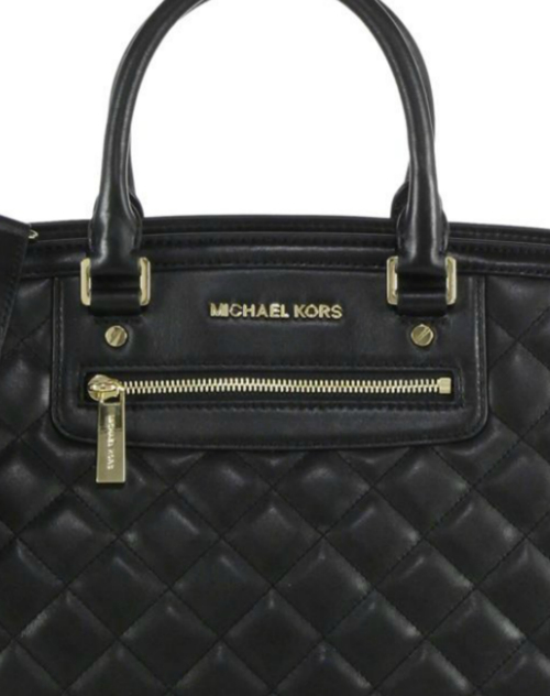 Michael Kors Selma Large Quilted Satchel 3