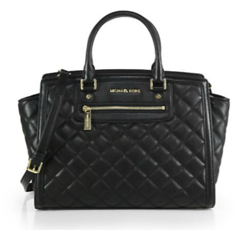 Michael Kors Selma Large Quilted Satchel
