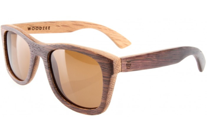 ROBERT MONDAVI PRIVATE SELECTION X WOODZEE SIERRA SUNGLASSES - RECYCLED OAK WINE BARREL