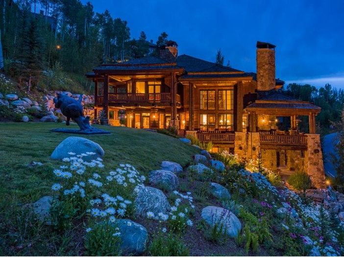 $10.9 Million Luxury Log Home in Beaver Creek, Colorado
