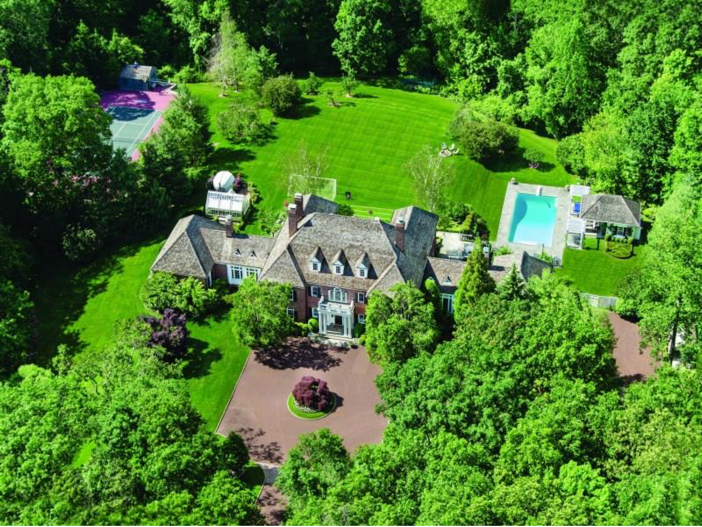 $12.4 Million Conyers Farm Mansion in Greenwich, Connecticut